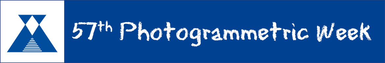 Banner der Photogrammetic Week (c)