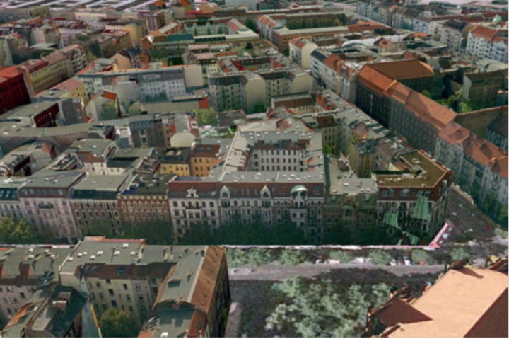 3D city model of Berlin textured from oblique aerial images (c)