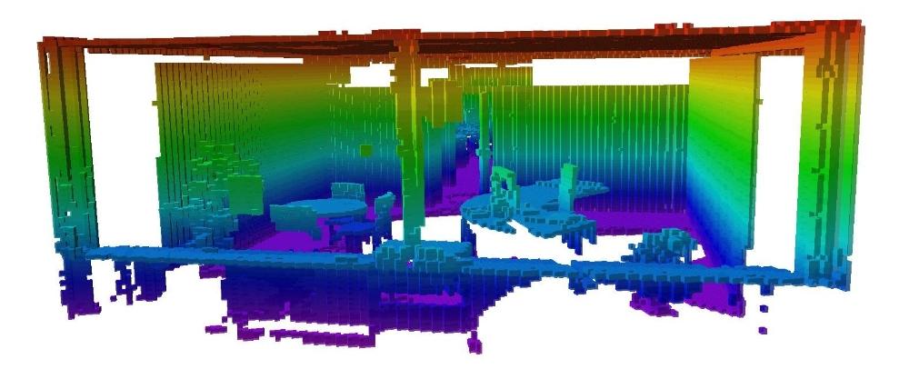Indoor Change Detection (BIM as-build versus as-designed
